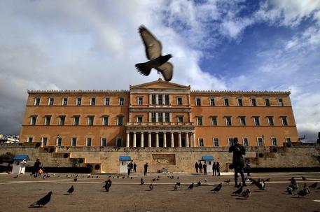 Il parlamento greco © EPA