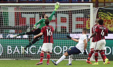 Milan-Verona 2-2 nell'anticipo 0fffb60a3ea909b54c6a89f10a97f064