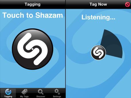 Shazam riconoscerà anche gli oggetti