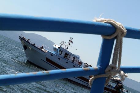 Un peschereccio, FOTO DI ARCHIVIO © ANSA
