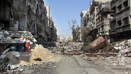 Mideast Syria Fight For Yarmouk © AP