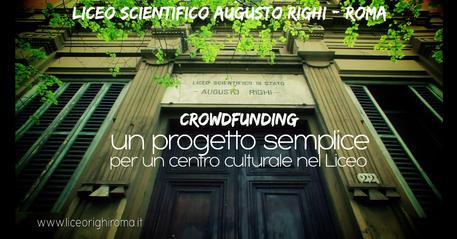 Il Liceo Augusto Righi di Roma © Ansa