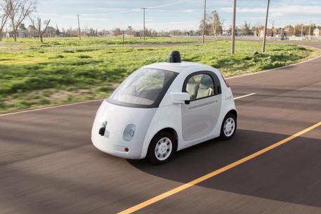 Prototipo della Google Car © ANSA