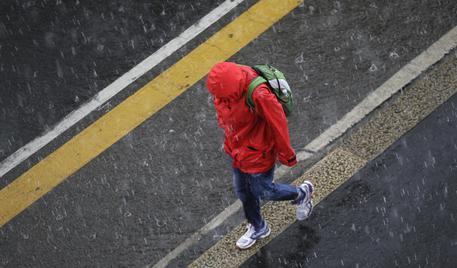 Caldo, violento temporale a Milano. Piogge in Alto Adige © ANSA