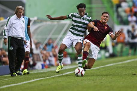 Amichevoli, Sporting Lisbona-Roma 2-0 3d7fcb471260f5d00925bf52885a60c5