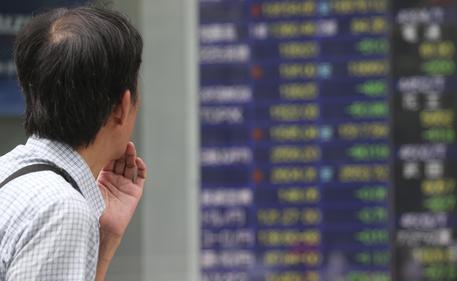 Giornata nera per tutte le borse dell'Asia © AP