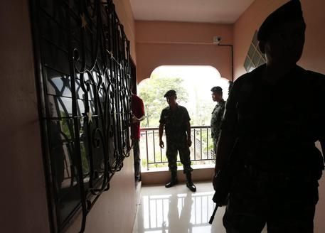 Agenti di polizia in Thailandia