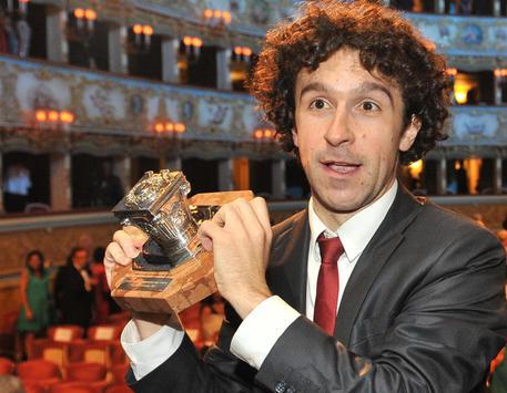 Marco Balzano, vincitore del premio Campiello 2015 © ANSA