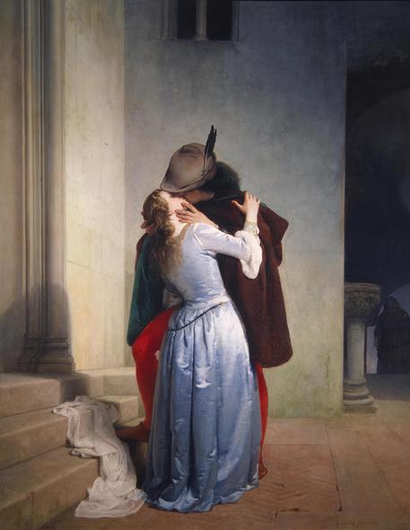 Immagini Il Bacio Di Hayez Powermall
