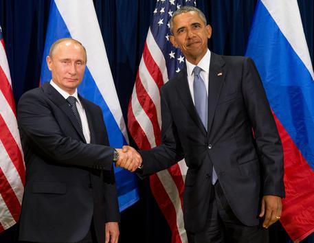 Vladimir Putin e Barack Obama © AP