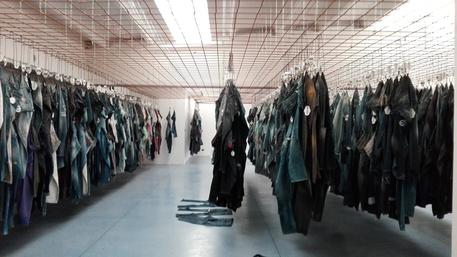 Una suerte de Museo del Jean en Italia (ANSA)
