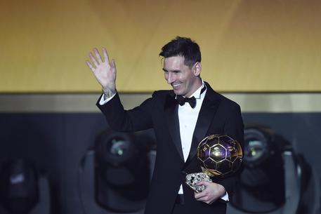 Pallone d'Oro, la felicità di Messi 06696626a00c9328c295a66d0e24abc6