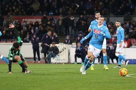 Napoli-Sassuolo 3-1, Inter a -4 E2f1171820c7fd536c21fbe2632ffeb5