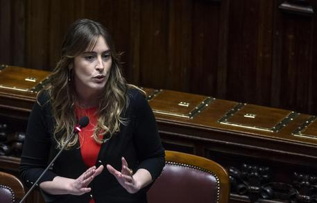 Il ministro Boschi durante il question time alla Camera © ANSA