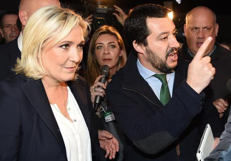Salvini, Le Pen together at League convention © ANSA