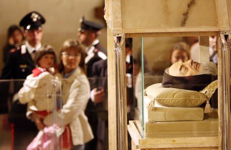 Roma blindatissima: arrivano le spoglie di Padre Pio