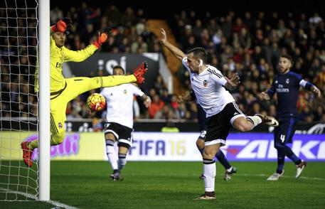 Valencia-Real Madrid 2-2 © EPA