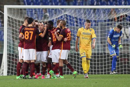 Roma batte Frosinone 3-1 354158cfaa1e9f2322ef48e89b233bc2