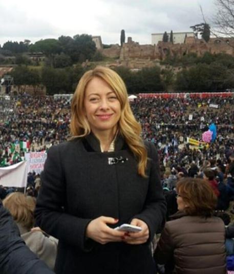 Family Day: Boldrini, squallidi insulti sessisti a Meloni