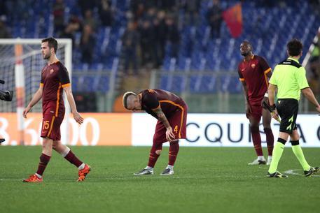 1-1 col Milan, fischi contro la Roma 5f8be90bf5c38ddfa537a5f36558b8e6