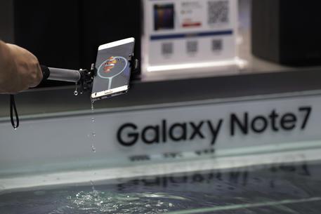 Samsung:in Italia rimborso totale Galaxy Note 7 pre-ordinati