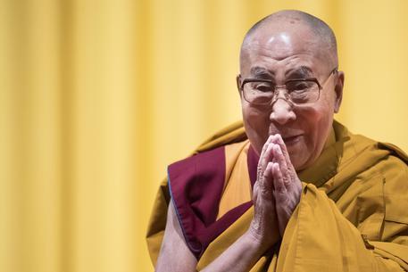 Dalai Lama, completato mandala benvenuto