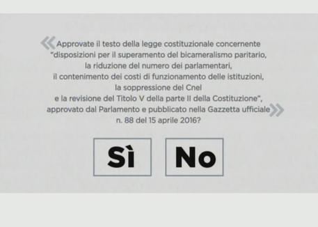 Tar respinge il ricorso delle opposizioni riguardo alla illegittimità del quesito referendario