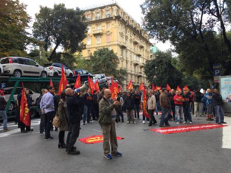 Riparazioni navali in sciopero: