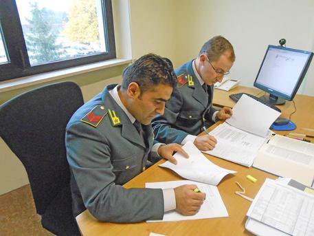 Militari della Guardia di Finanza in una foto d'archivio © ANSA