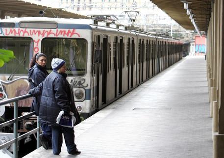 Ένας σταθμός του μετρό της Ρώμης © ANSA