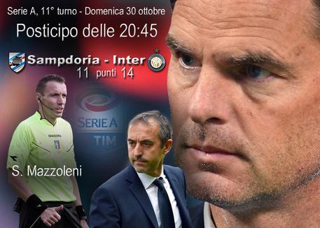 Sampdoria-Inter, conferenza De Boer: