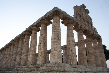 Paestum (SA), Tempio di Atena © ANSA