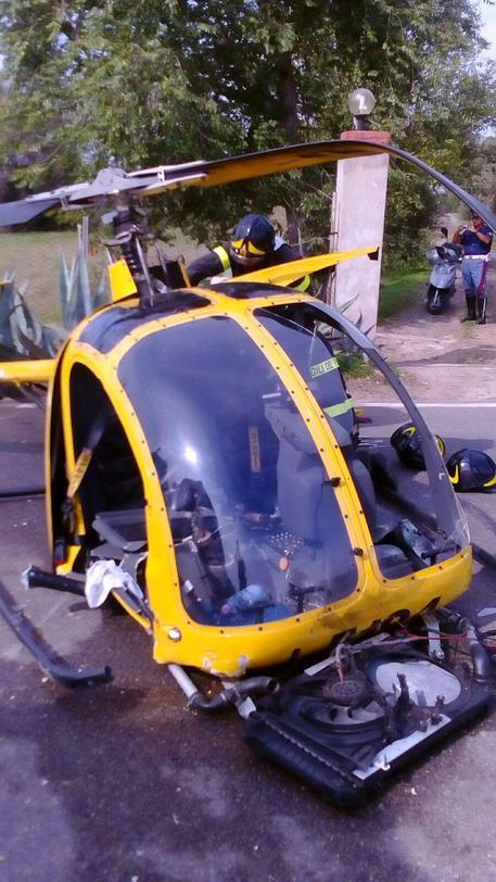 Elicottero Piccolo : Cade velivolo nel cagliaritano un ferito sardegna ansa