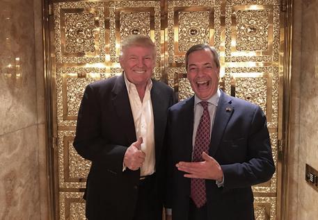 Trump: Farage ambasciatore.Gb: no posto