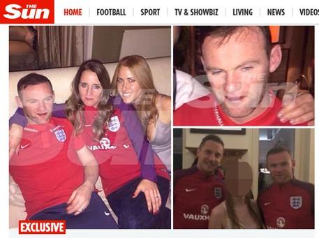 Inghilterra, scoppia il caso Rooney ubriaco dopo la partita con la Scozia