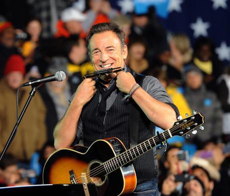 Bruce Springsteen riceve la Presidential Medal of Freedom da Obama