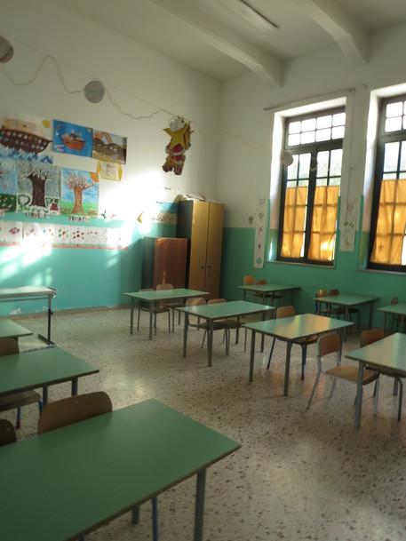 Crolla tetto bagno scuola Garzilli - Sicilia - ANSA.it