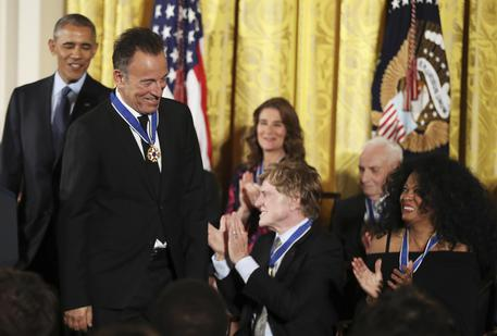 Le ultime medaglie dell'era Obama, dai Gates a Springsteen