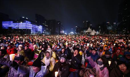 Disposta a dimettersi la presidentessa sudcoreana Park Geun-hye