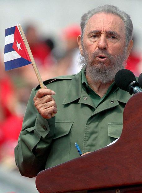 Fidel Castro © EPA