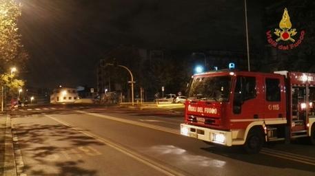 Firenze, paura in via Baracca: fuga di gas, palazzi evacuati