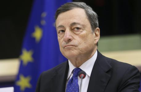 Mario Draghi, the Italian President of the European Central Bank (ECB) © EPA