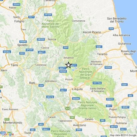 Terremoto, scossa magnitudo 3.7 in provincia di Reggio Emilia