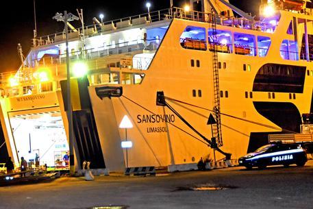 La nave nave Sansovino © ANSA