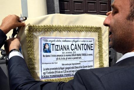 Tiziana Cantone, il Tribunale di Napoli: