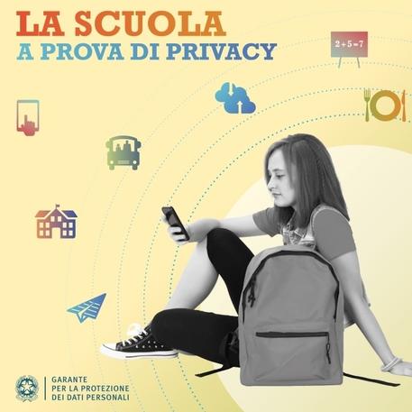 La privacy a scuola, vademecum del Garante
