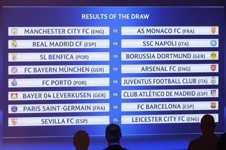 Calendario Champions Ottavi.Champions Agli Ottavi Napoli Real Madrid E Juventus Porto