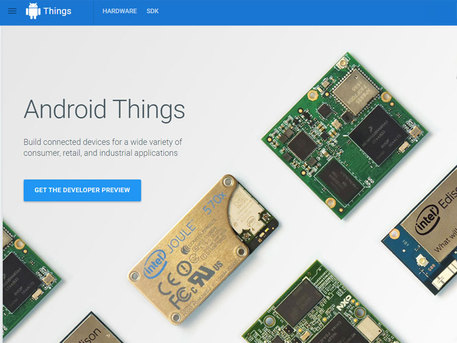 Nasce Android Things, un SO per sistemare il mondo IoT