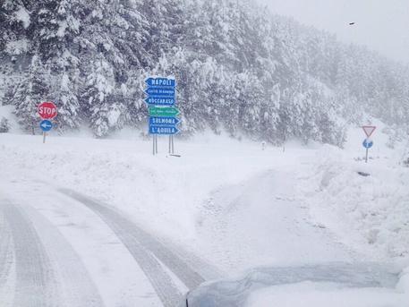 Befana con la neve: gelo in arrivo sul Barese