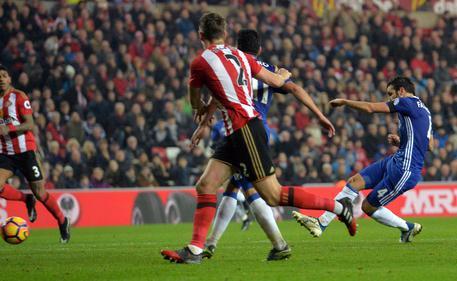 Risultato Sunderland - Chelsea 0-1: per Conte 10 vittorie di seguito